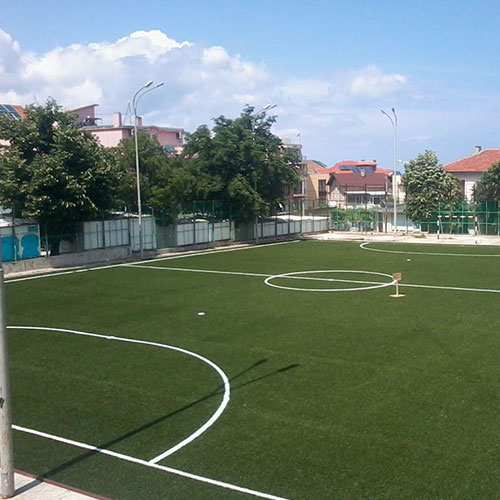 Sports playgrounds and complexes