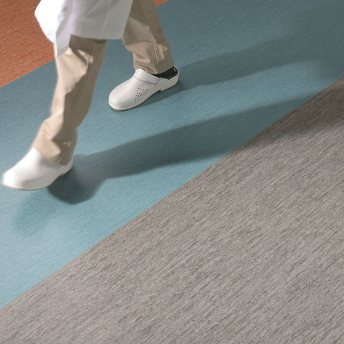 Delivery and installation of PVC flooring systems and linings /antibacterial/