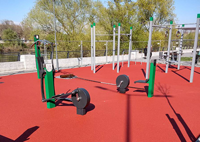 Sport playgrounds in Plovdiv