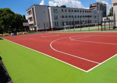 Basketball Court in Burgas