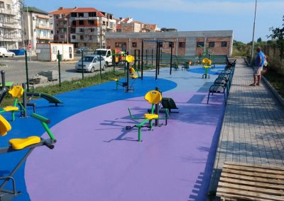 Playground for fitness in Nesebar